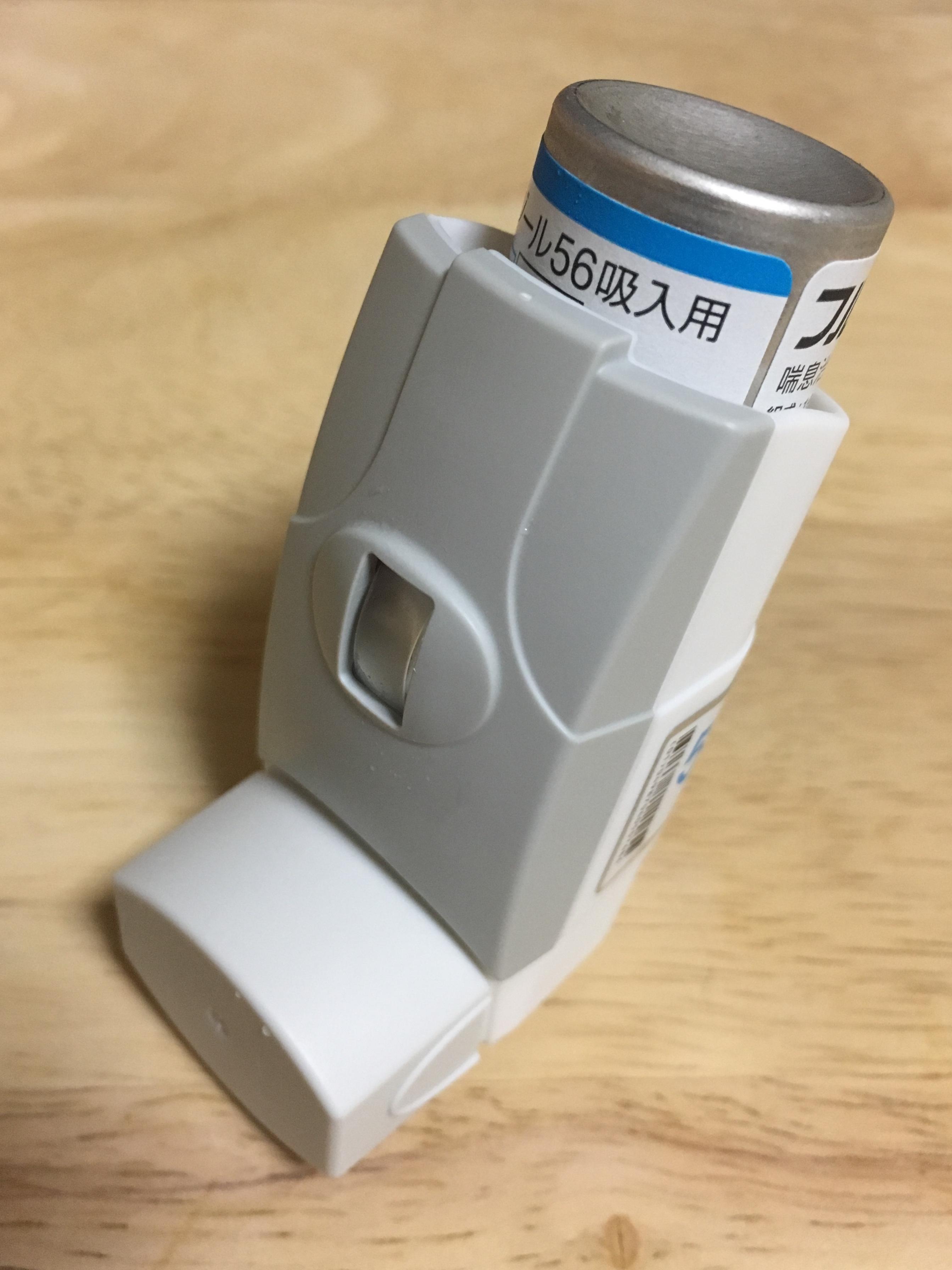 吸入ステロイド薬・気管支拡張薬